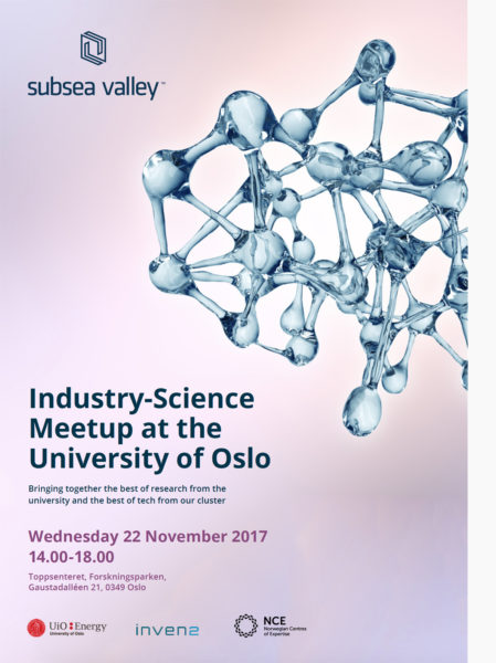 Front page of invitation to Industriy-Science Meetup