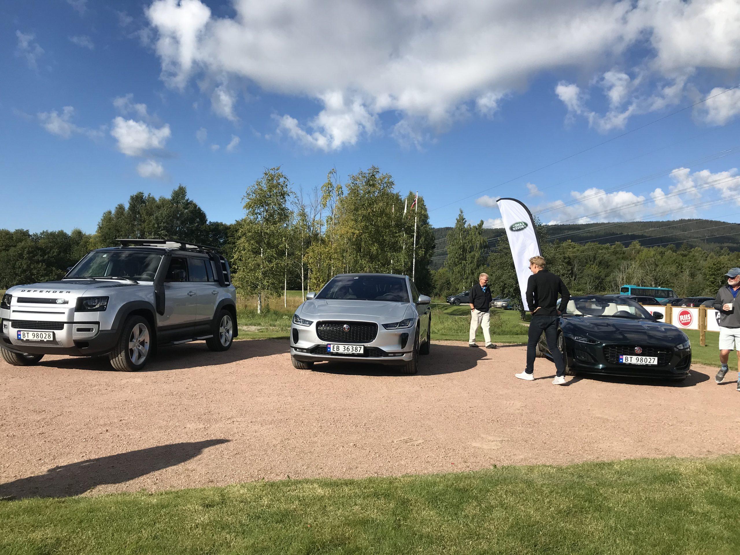 Jaguar Land Rover Norge stilte opp med biler