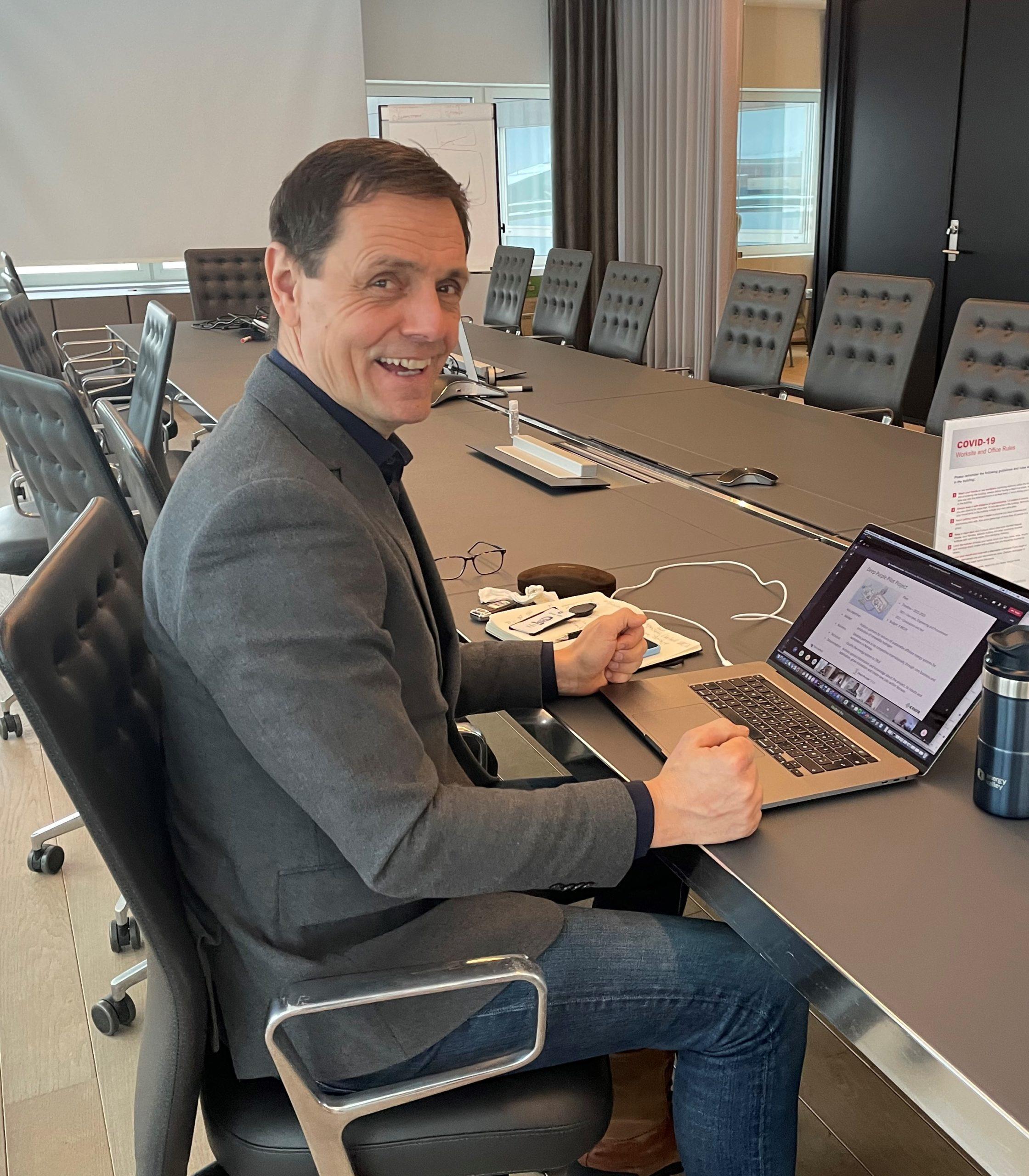Preben Strøm, Managing Director of Energy Valley